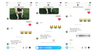 Instagram Launches Voice Messaging