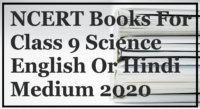NCERT Books For Class 9 Science