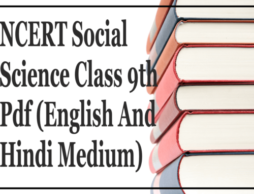 NCERT Social Science Class 9th